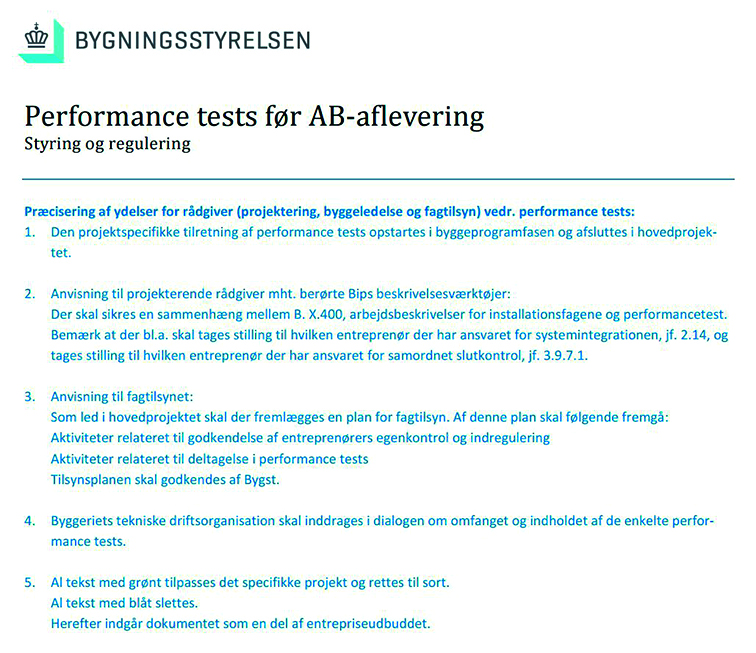 Performance tests før AB-aflevering